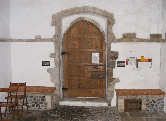 The main doorway