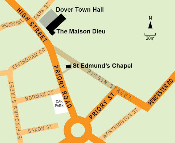 Dover's Chapel of St Edmund of Abingdon