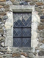 Window above the door
